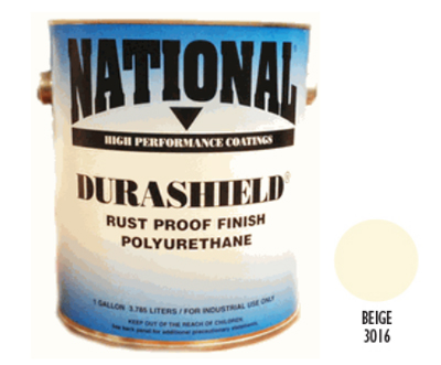 DURASHIELD RUST PROOF INDUSTRIAL ENAMELS - Beige 5 Gal