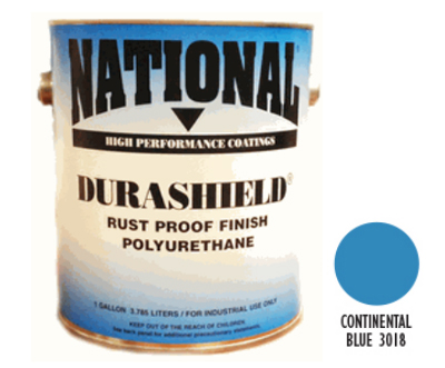DURASHIELD RUST PROOF INDUSTRIAL ENAMELS - Continental Blue Gal