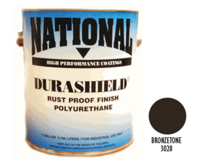 DURASHIELD RUST PROOF INDUSTRIAL ENAMELS - Bronzetone Gal
