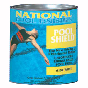 Pool Shield™ Chlorinated Rubber Pool Paint White - Gallon