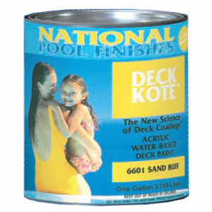 Deck Kote™ Acrylic Water-Based Deck Paint Pink Rose - Gallon