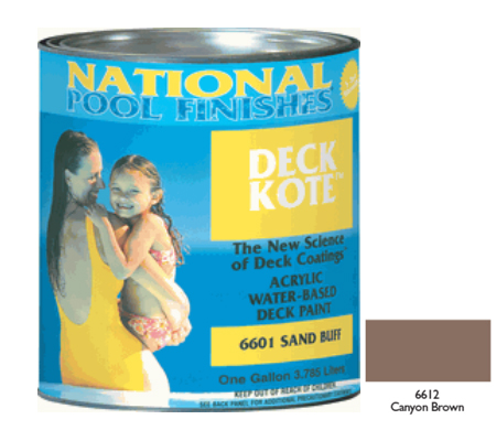DECK KOTE CANYON BROWN - 5 GALLON