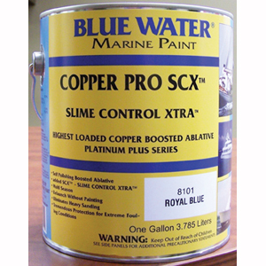 Copper Pro™ SCX™ 67 Boosted Ablative Bottom Paint - Royal Blue Gallon