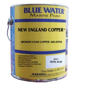 New England Copper™ Ablative Bottom Paint - Marine Black Gallon