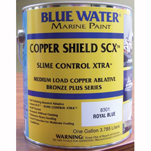 Copper Shield™ SCX™ 45 Boosted Ablative Bottom Paint - Marine Black Gallon