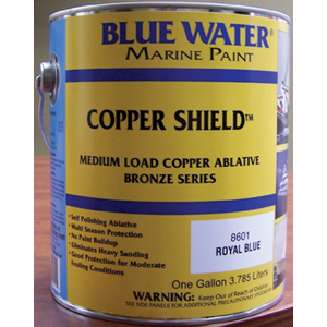 Copper Shield™ 45 Ablative Bottom Paint - Marine Black Gallon