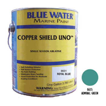 COPPER SHIELD UNO 35% ABLATIVEE - Admiral Green Gal