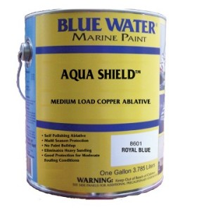 Aqua Shield™ Water Base Ablative Bottom Paint - Royal Blue Quart