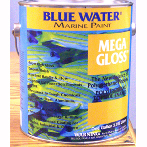 Mega Gloss™ Topside Polyurethane Enamel - Medium Gray Gallon