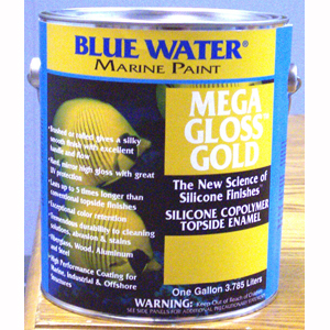 Mega Gloss Gold™ Silicone Copolymer - Continental Blue Gallon
