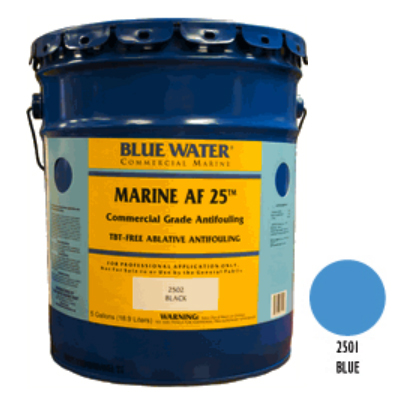 Marine AF 25 - TBT Free Ablative Antifouling - Blue 1 Gallon