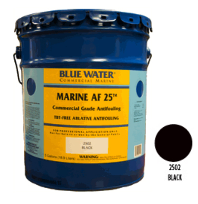 Marine AF 25 - TBT Free Ablative Antifouling - Black 1 Gallon