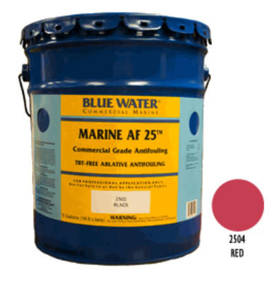 Marine AF 25 - TBT Free Ablative Antifouling - Red 1 Gallon