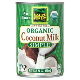 Organic Coconut Milk - Pure And Simple ( 12 - 13.5 FZ )