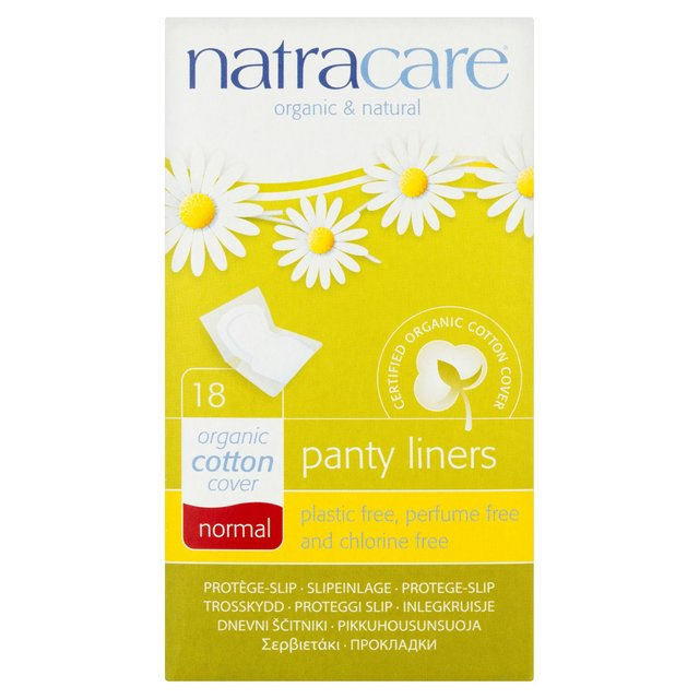 Natracare Normal Wrapped Panty Liners (1x18 Ct)
