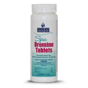 Water Care, Natural Chemistry, Bromine Tabs, 1.5lb