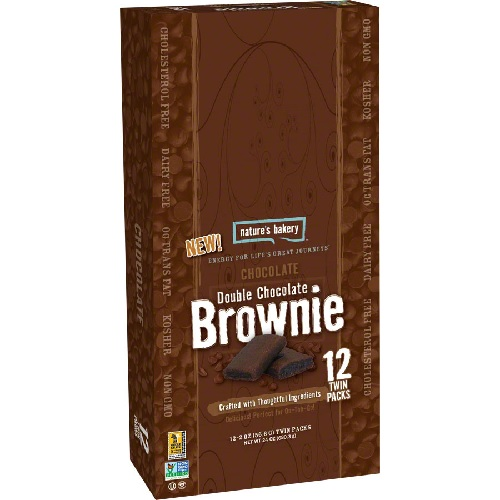 Natures Bakery  Double Chocolate Brownie (12x2 OZ)