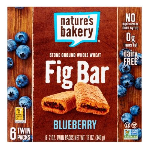 Stone Ground Whole Wheat Fig Bar - Blueberry ( 36 - 2 OZ )
