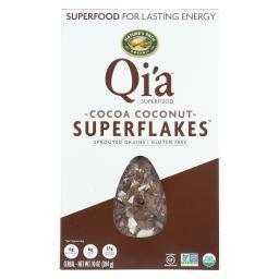 Organic Qi'A Superflakes - Cocoa Coconut ( 12 - 10 OZ )