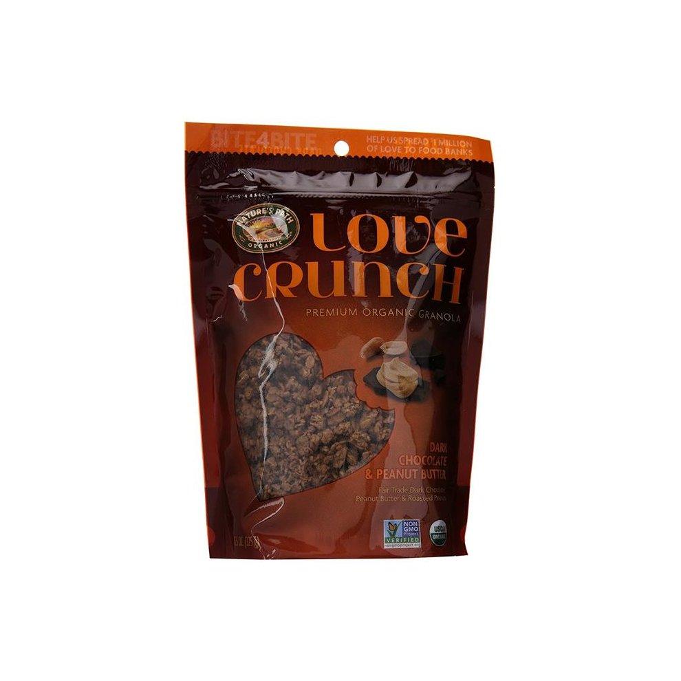 Organic Love Crunch Granola - Dark Chocolate And Peanut Butter ( 6 - 11.5 OZ )