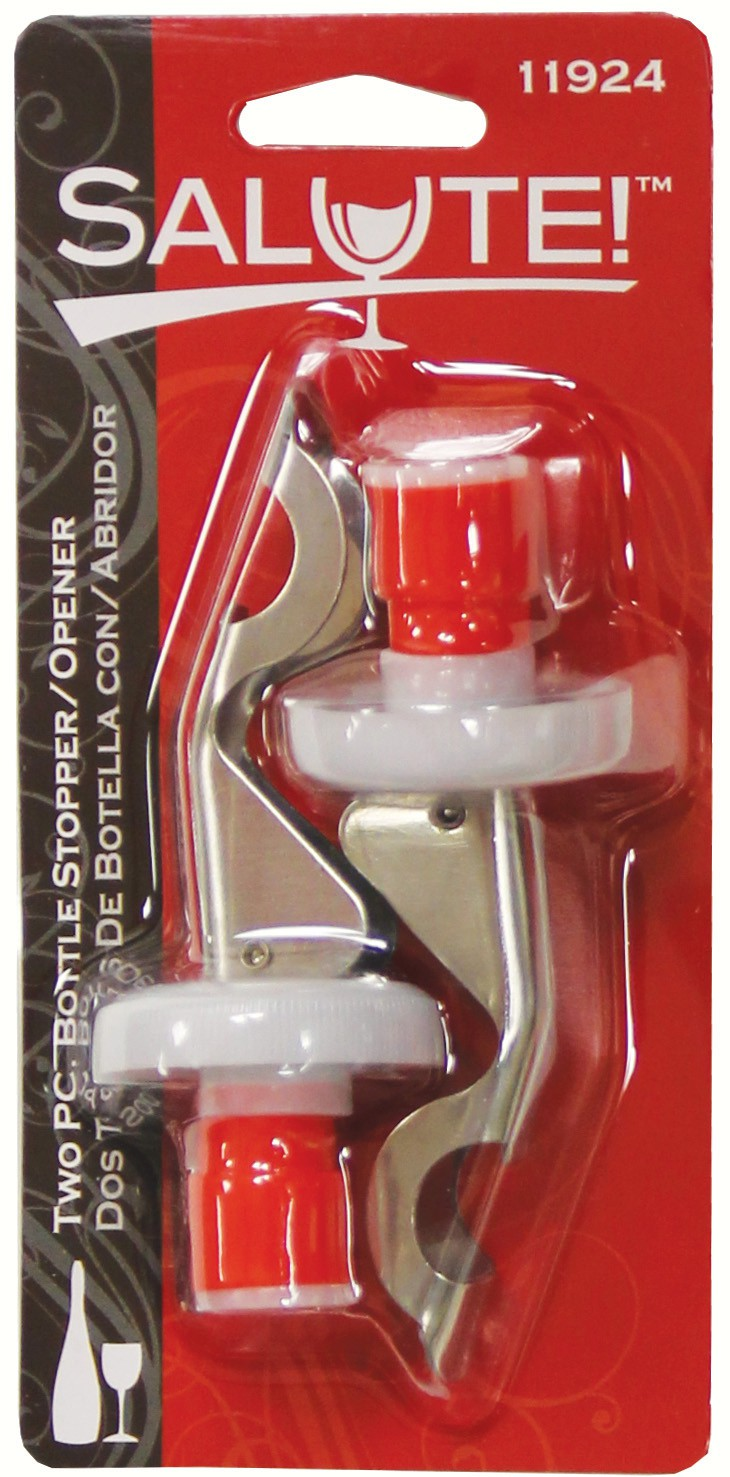 2 pc Bottle Stopper