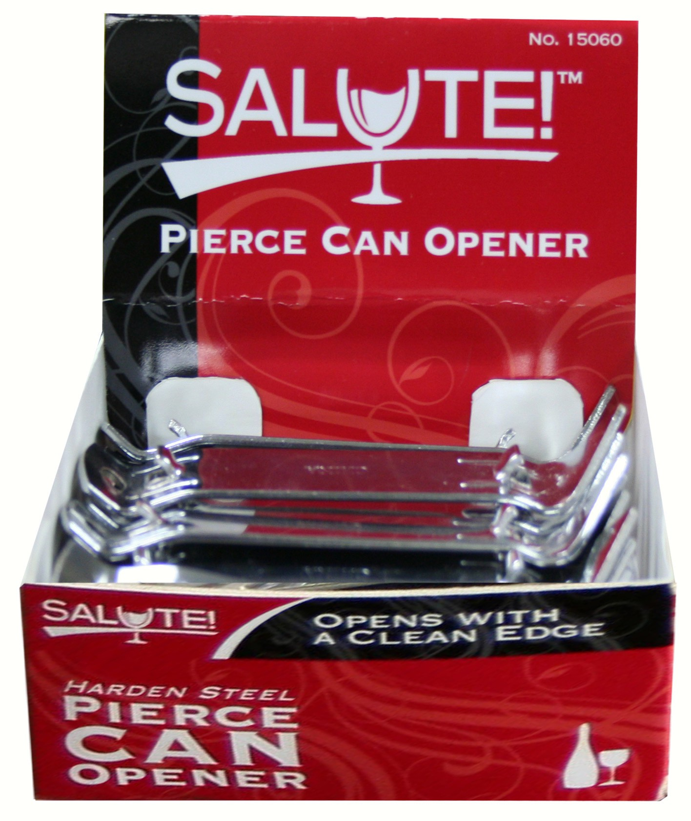25 ct Pierce Can and Bottle Opener w/ Display
