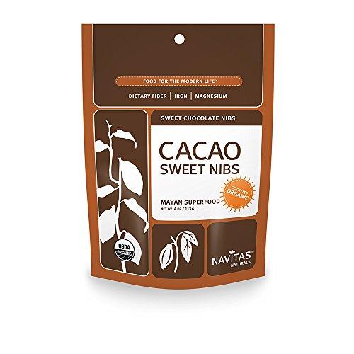 Cacao Nibs - Organic - Sweet - Raw ( 12 - 4 OZ )