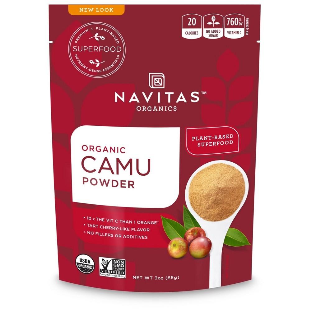 Camu Powder - Organic - Raw ( 6 - 3 OZ )