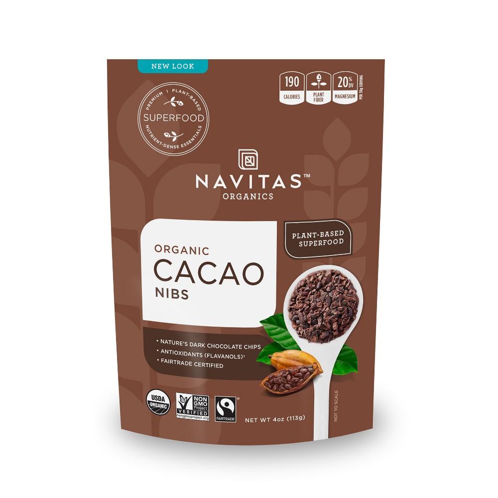 Cacao Nibs - Organic - Raw ( 12 - 4 OZ )