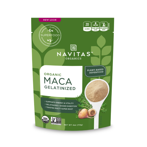 Maca Powder - Organic - Gelatinized ( 12 - 4 OZ )