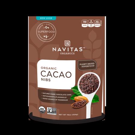 Cacao Nibs - Organic - Raw ( 6 - 16 OZ )
