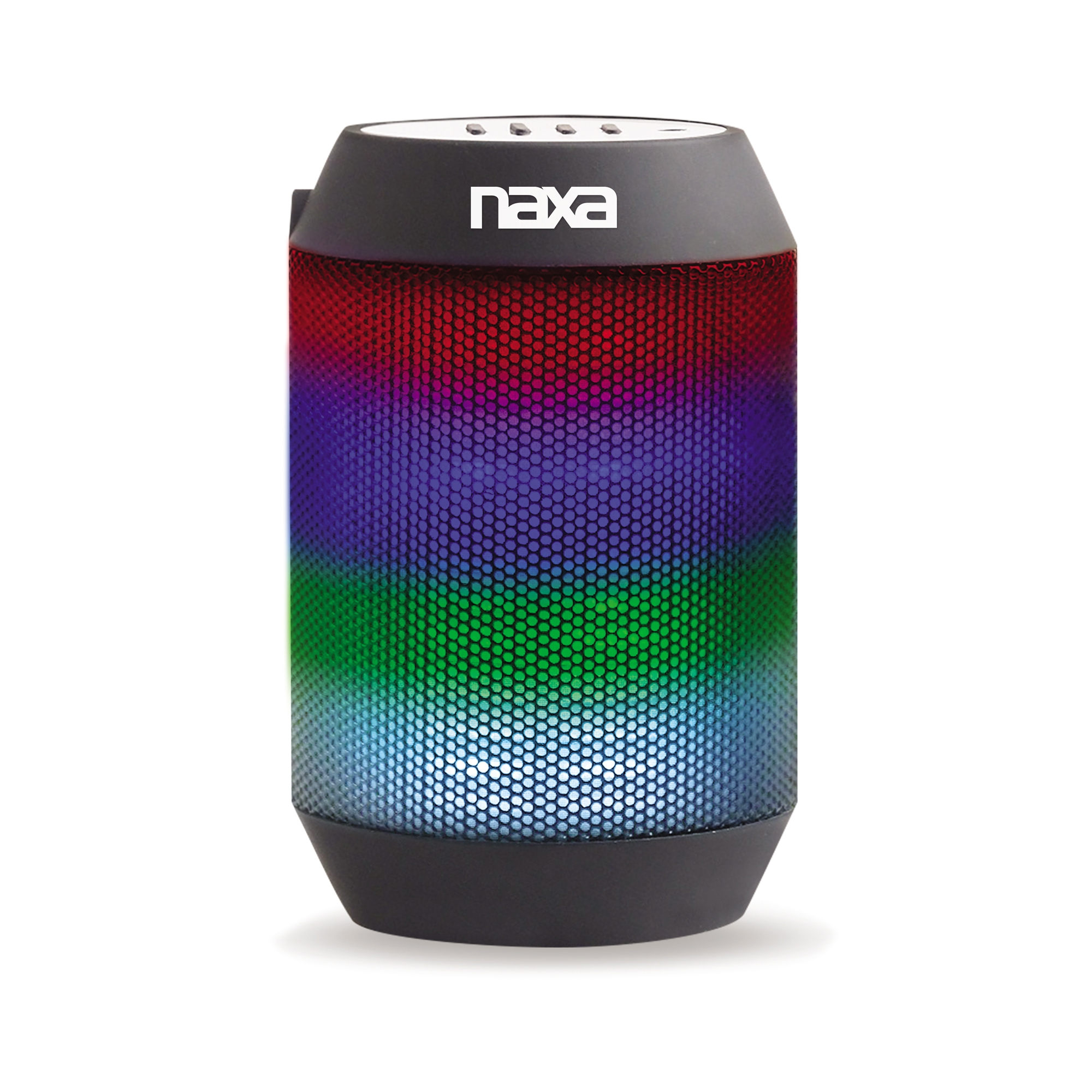 Naxa VIBE mini Bluetooth Compact Speaker with Multi-color Effects
