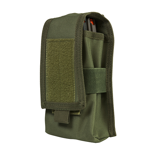 2 AR/Ak Magazine Or Radio Pouch - Green