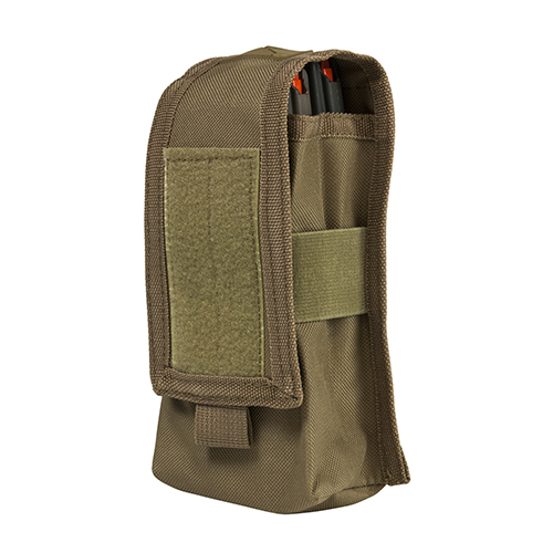 2 AR/Ak Magazine Or Radio Pouch - Tan