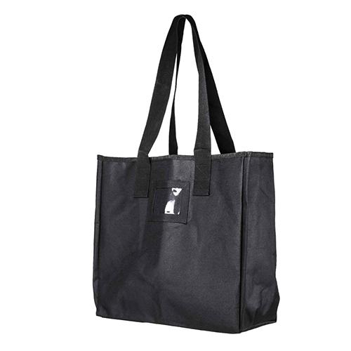 VISM Groccery Shopping Bag/ Black