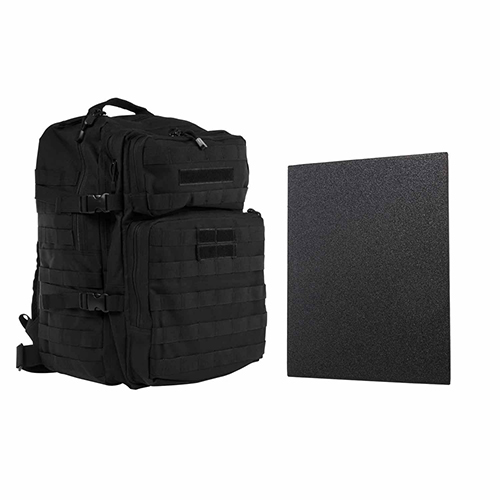 "Assault BP 11""x14"" Level IIIA HP PLTE/BLK"
