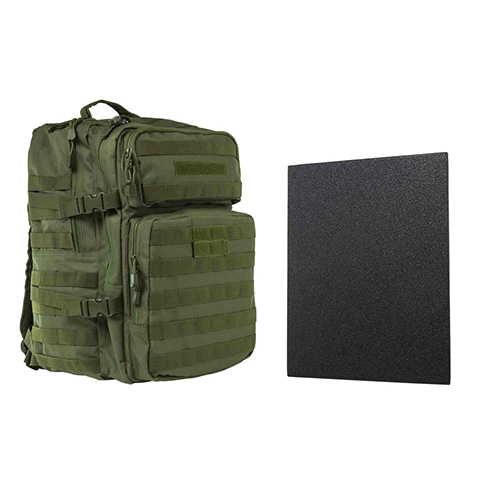 "Assault BP 11""x14"" Level IIIA HP PLT/ GRN"