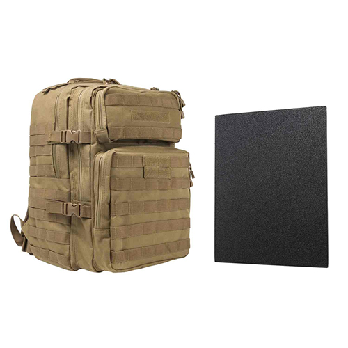 "Assault BP 11""x14"" Level IIIA HP PLTE/TAN"