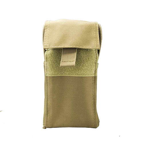 25 Shell Carrier Pouch/ Tan