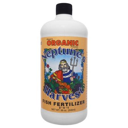 Neptune's Harvest Fish Fertilzer Orange Label 36 Oz
