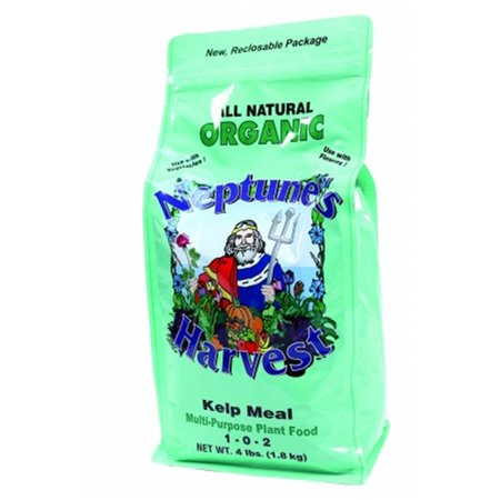 Neptune's Harvest Kelp Meal Fertilizer Green Label 4 Lb