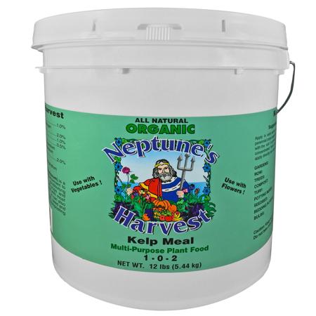 Neptune's Harvest Kelp Meal Fertilizer Green Label (1x12 Lb)