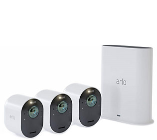 Arlo Pro 4K UHD Wire-Free 3 Camera Kit