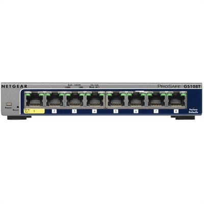 8 Port Gig Smart Mged Switch