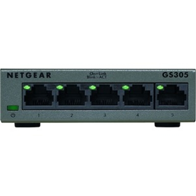 5-port Gigabit Ethernet Unmana
