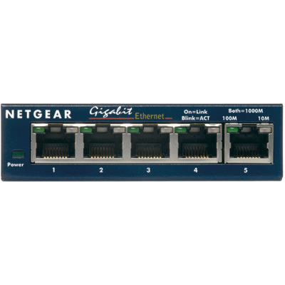 Switch 5-Port 10/100/1000MBPS