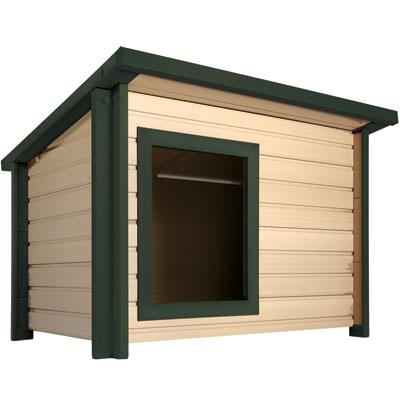 X Large Rustic Lodge Dog House
