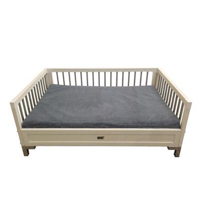 XLG Mahattan Loft Bed Antique White