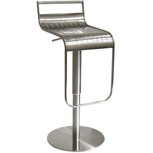 AmeriHome Stainless Steel Bar Stool