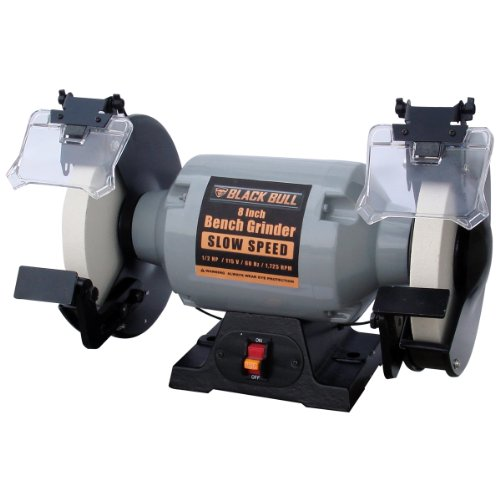 Black Bull 8 Inch Slow Speed Bench Grinder